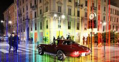 Good Night 📱🚶🏻🌈🚗🏢 #photoofthenight #photo #around #backtohome #finishdayoffwork #lights #PiazzaGaribaldi #square #vintage #beautiful #car #swizerlan🇨🇭 #live #mypassionphoto #colors #effect #hastags #socialnetwork #pinterest #instagram #tumblr #twitter #followme #followers #night #offday #milancity #garibaldi #lightsneons #live #people