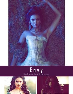 Seven Deadly Sins Vampire Diaries-ENVY