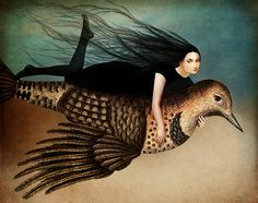 Catrin Welz-Stein: Digital art collaging classical paintings and photographs