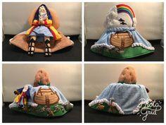 Noah - Noah's Ark Reversible / Topsy Turvy / Flip  Doll (D16) in Dolls, Bears, Dolls, Other Dolls   eBay! Big Girl Toys, Toys For Girls, Ark, Flipping, Baby Car Seats, Dolls, Children, Ebay, Baby Dolls