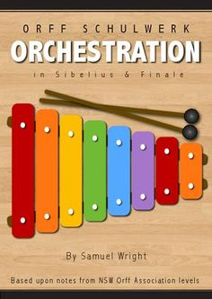 Orff Orchestration & Notation.  Free collection of Orff level info and how to write for Orff in Finale and Sibelius.