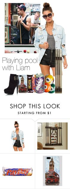"""""""Playing pool with Liam"""" by gurls-rock ❤ liked on Polyvore featuring Payne, UNIF, Pottery Barn and Audiology"""