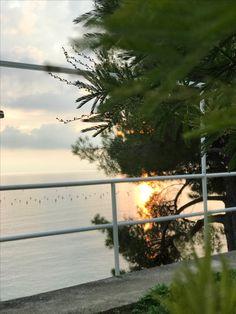 Tramonto a Trieste costiera