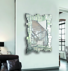espejo decorativo marco asim trico modelo es01 e 108 espejos pinterest miroirs facettes. Black Bedroom Furniture Sets. Home Design Ideas