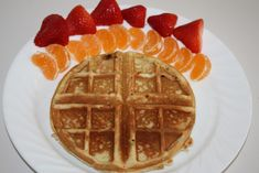 Cake Waffles Recipe...  Read More at www.onesmileymonkey.com/recipes-2/cake-waffles-recipe/ © OneSmileyMonkey.com