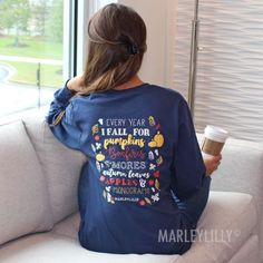 Monogrammed Fall T-Shirt