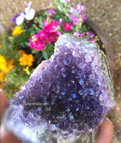 Amethyst is a stone of spirituality. Amethyst inspires creativity, relaxation and peace. It is a wonderful meditation tool.  #crystals