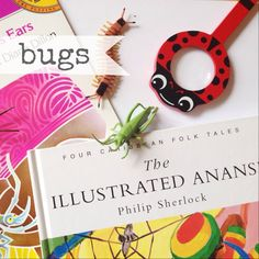WEEKLY TODDLER THEME (BUGS): Books- Why Do Mosquitos Buzz in People's Ears, The Very Hungry Caterpillar, Anansi the Spider...Bible Story- Moses and the plagues...Art Project- Bug tracks in play dough and bug tracks stamping...Outing- Butterfly Pavilion