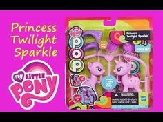 A cute little My Little Pony MLP Pop Surprise set featuring Princess Twilight Sparkle.  In this video, Toy Box Magic opens this adorable My Little Pony MLP Pop Surprise set featuring Princess Twilight Sparkle.  She comes with fun accessories such as hair, wings and a tail.  Take her out, pop her together, and decorate with accessories and stickers (included).  https://youtu.be/ZXxPpHW11JE
