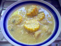 Corn Soup (Trini Style) | Simply Trini Cooking #trinicooking