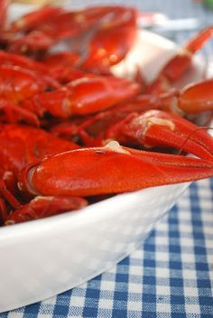 Crayfish, a true Southern delicacy.
