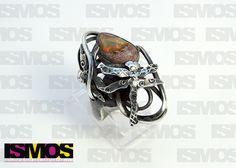 ISMOS Joyería: anillo en plata con ópalo // ISMOS Joyería: silver ring with opal