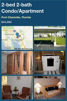 2-bed 2-bath Condo/Apartment in Port Charlotte, Florida ►$44,900 #PropertyForSale #RealEstate #Florida http://florida-magic.com/properties/1286-condo-apartment-for-sale-in-port-charlotte-florida-with-2-bedroom-2-bathroom