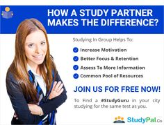 How a #Studypartner makes the difference in getting better #score in your #tests??