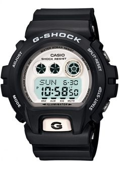 0a072100a2b Casio GDX69007ER Mens GShock World Time White Black Digital Watch   Click  image for more details