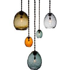 """Unique """"Glacier"""" pendant by David Wiseman"""