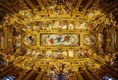 The Ceiling of the Paris Opera House from #treyratcliff at www.StuckInCustoms.com