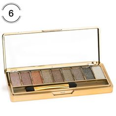 9 Colors Professional Cosmetic With Brush Diamond Bright Makeup Eyeshadow Naked Palette Make Up Set Eye Shadow Maquillage