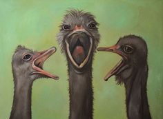 The 3 Tenors by paintingmaniac on Etsy, $900.00