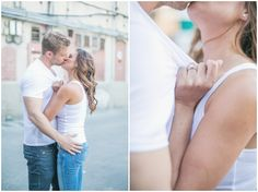 Hot couple + great chemistry = Sexy Engagement Shoot by Closer To Love Photography