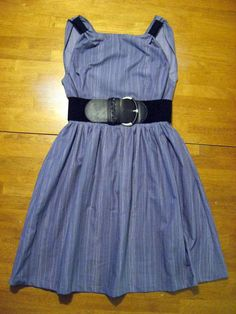 bedsheet dress | Light Summer Dress Made From A Bed Sheet ∙ Creation by Celine R. on ...
