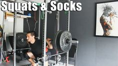 My First #Powerlifting Meet! Some #Squats & Socks. #weightlifting #homegym #gym #training #strength #texasmethod