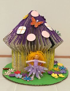 Book-folding-fairy-house-and-fairy.jpg 600×781 pixels