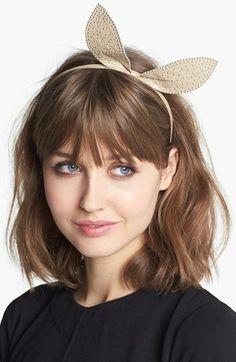 Hair grow out inspiration + headband love