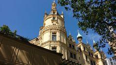 Schwerin castle side tower by Arminius1871