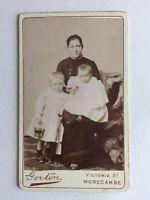 Victorian Carte De Visite CDV Photo - Family - Albert Gorton- Morecambe
