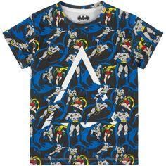 Eleven Paris Blue Vintage Batman And Robin Tee Batman Dress, Batman T Shirt, Batman Robin, Batman Vs, Superman, Designer Childrenswear, Paris T Shirt, Eleven Paris, Disney Tees