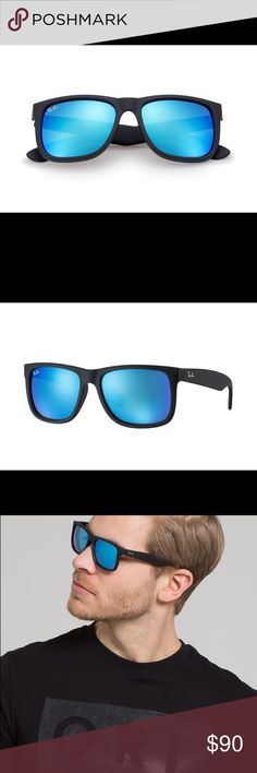 d65a910ec0 ... promo code for ray ban justin blue lens brand new and authentic ray ban  justin matte