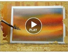 Slideshow demos of sky washes in watercolor. Many demos on this site. June Rollins' Art Blog #watercolorarts