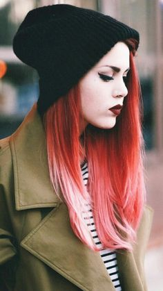 At the moment my hair is ginger but when I can this is the first hairstyle I'm trying