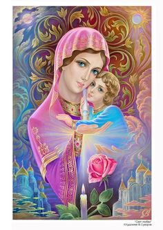 DIY Diamond embroidery Religion Mary and Jesus full square drill diamond painting Cross Stitch Rhinestone mosaic decoration Blessed Mother Mary, Divine Mother, Mother Goddess, Blessed Virgin Mary, Hail Holy Queen, Jesus E Maria, Jesus Photo, Lady Of Fatima, Queen Of Heaven