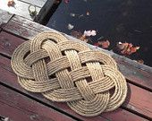 Love these nautical door mats. I even managed to find someone locally who can make them for me!