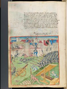 Bern, Burgerbibliothek, Mss.h.h.I.1, f. 250 – Diebold Schilling, Amtliche Berner Chronik, vol. 1