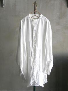 平織リネン<br />チュニックシャツ<br />(Unisex)<br /> | Vlas Blomme,Standard | | AJP Onlineshop