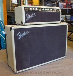 1963 Fender Bassman. Via Mass Street Music.