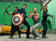 The World's Mightiest Heroes...and Joss Whedon.