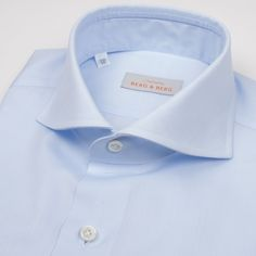 Spread Collar Shirt Outfit, Shirt Dress, Bespoke Shirts, Light Blue Shirts, Preppy, Classic Style, Passion, Clothing, Mens Tops