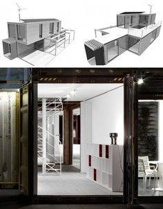 40-Foot Container Homes | Shipping Containers Modern Stacked