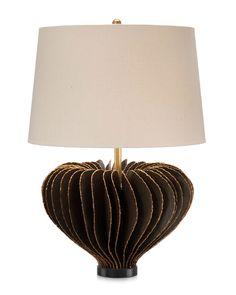 John Richard Artist Designed Brutalist Lamp.