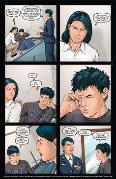 The Young Protectors: Engaging The Enemy Bonus Comic One—Page 25 - Yaoi 911 Webcomics