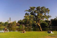Bosques y los lagos  de Palermo, Buenos Aires, Argentina