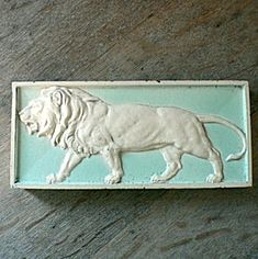 Architectural Lion Tile