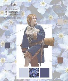 Bilbo Color palette - Blue coat