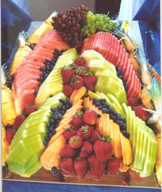 """Fruit Carving Display 