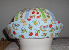 Cotton Hat Baby Toddler Hat Spring Hat Sun Hat by lilyellowduck, $16.00