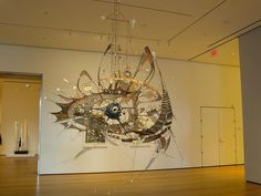 Lee Bontecou - such remarkable sculpture.  She should be far better known than she is.